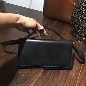 COACH Pebbled Leather Crossbody Bag MADE IN ITALY